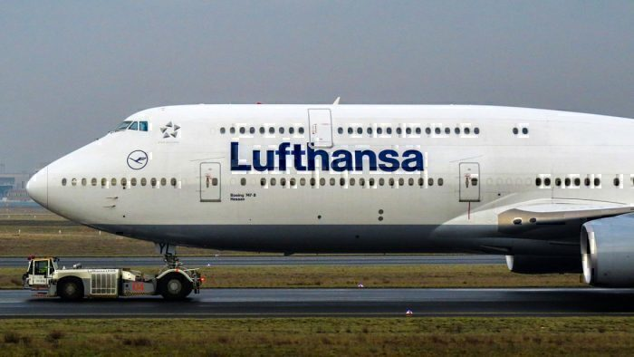 Lufthansa Boeing 747-8 Returns To Frankfurt As A Result Of Landing Gear Issues