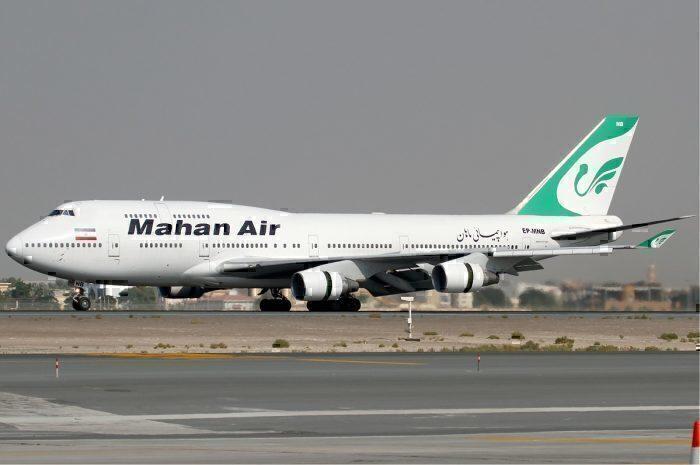 Mahan Air 747-400