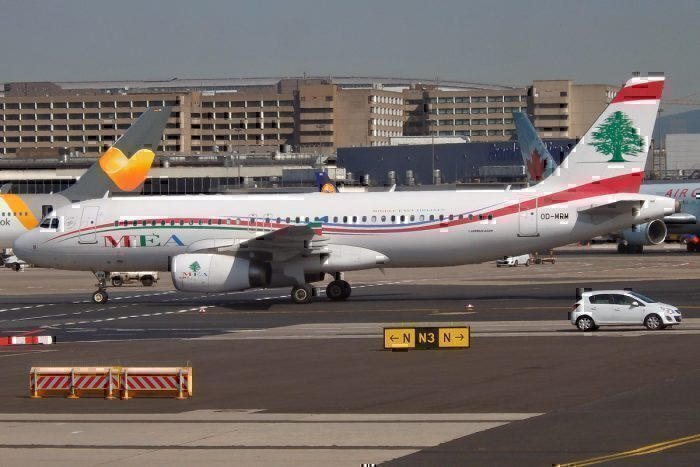 Middle East Airlines, OD-MRM, Airbus A320-232