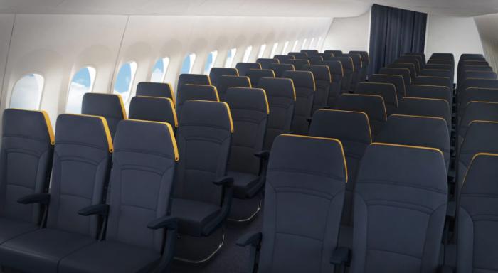 737 MAX interior