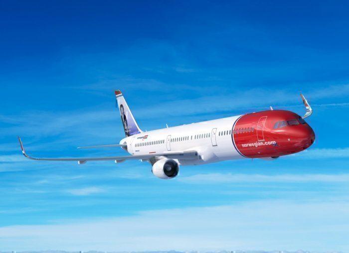 Norwegian Airbus