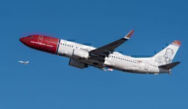 A Norwegian Boeing 737