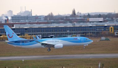 TUI is a package holiday airlines