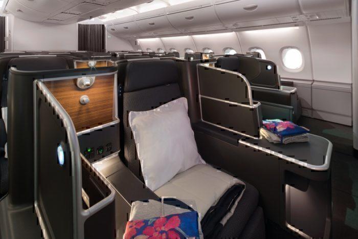 Qantas cabin