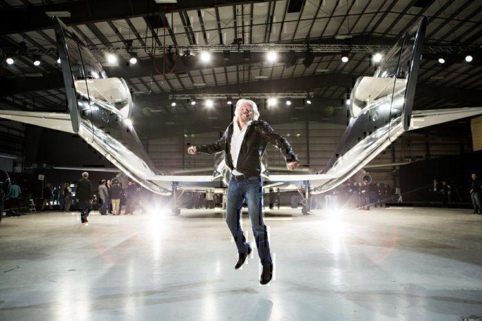 Virgin Galactic, Richard Branson, Boeing Investment