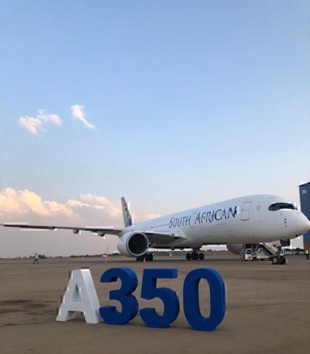 SAA Airbus a350 new aircraft