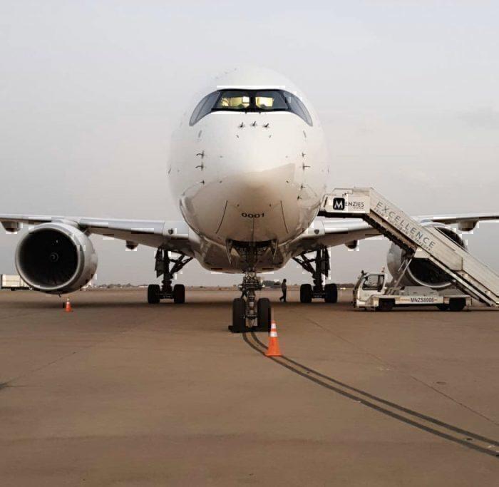 SAA first A350