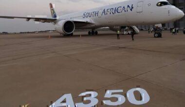 SAAs first A350