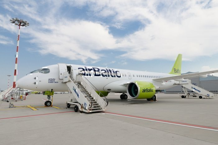 airBaltic, Airbus A220, Engine Replacement