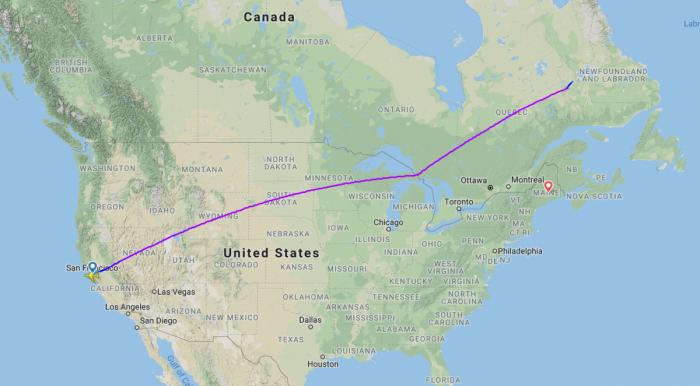 United Boeing 787-9 Dreamliner Diverts To Bangor Following Depressurisation