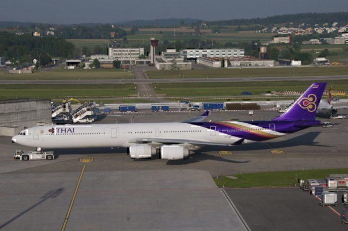 Thai Airways Airbus A340