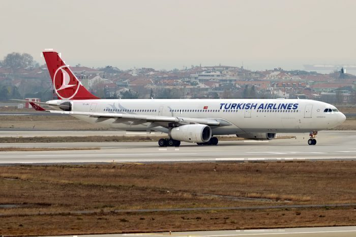 A Turkish Airlines Airbus A330