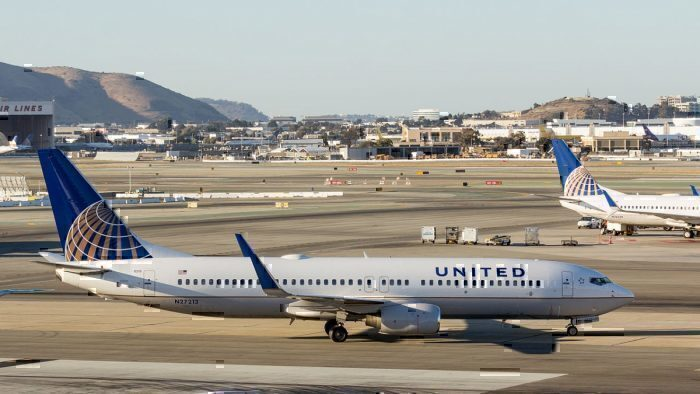 United Airlines at SFO