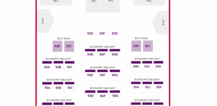VS A350 economy delight