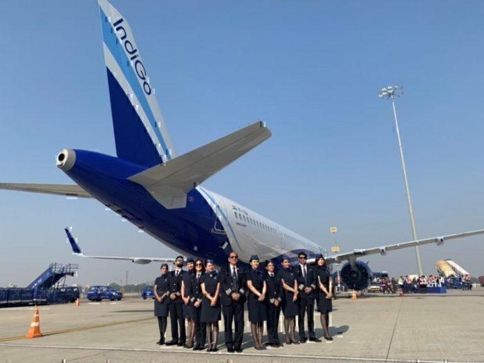 indigo A320neo engine