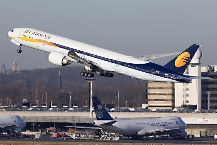 A Jet Airways Jet
