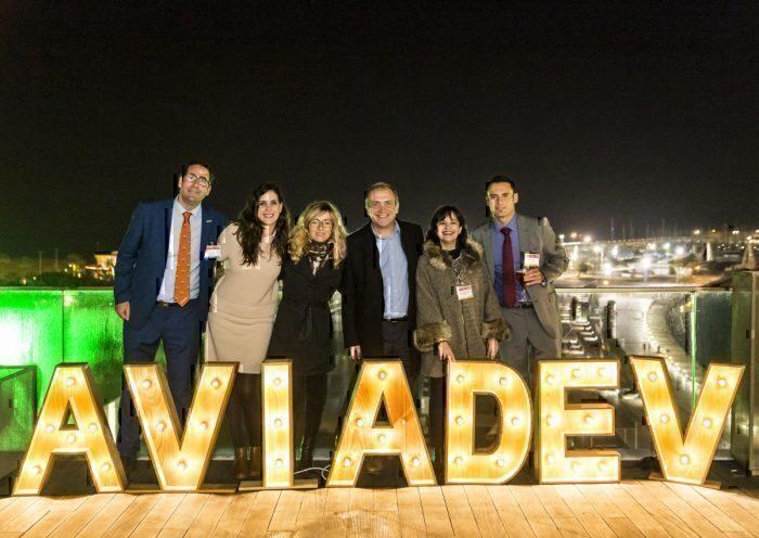 Valencia team at AviaDev