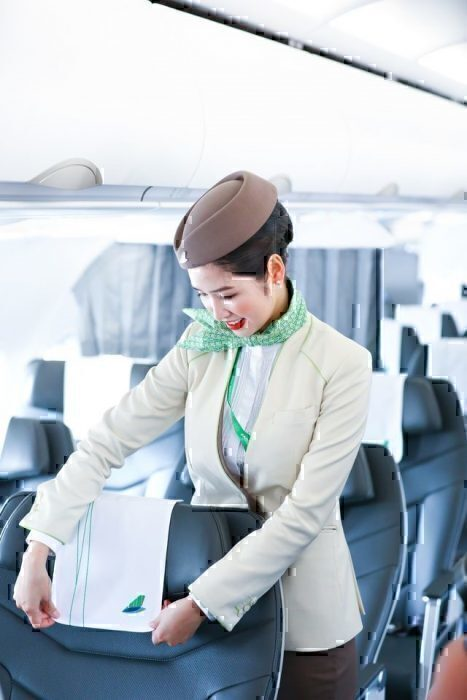 Bamboo Airways flight attendant