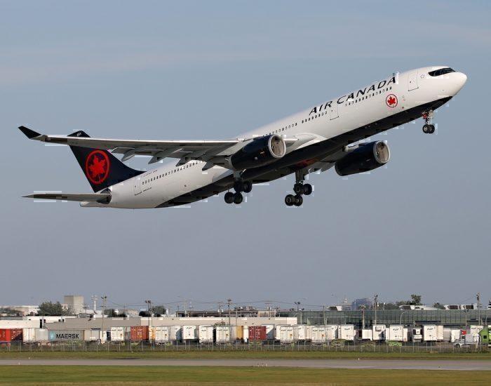 Air Canada A330 aircraft.