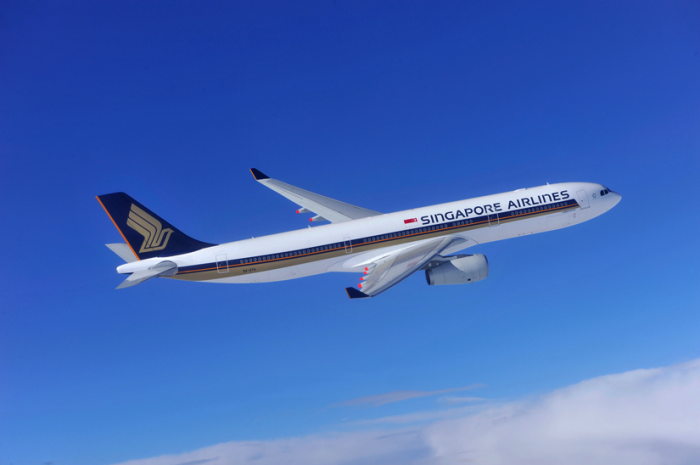 Singapore Airlines A320 aircraft.