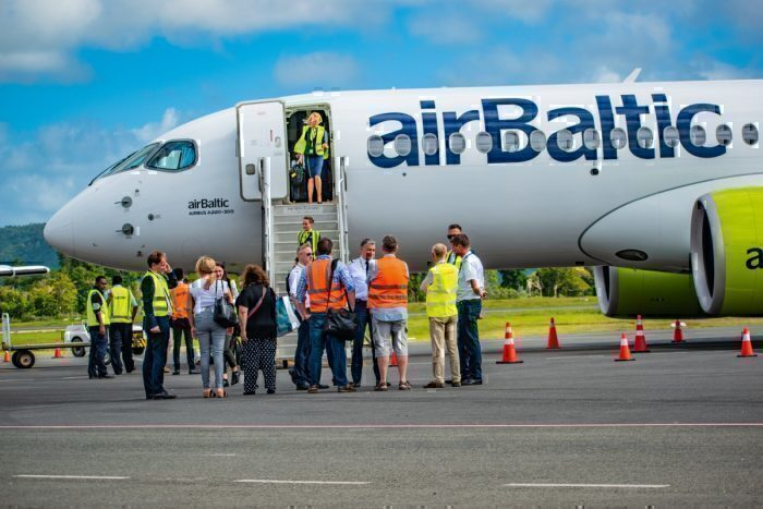 airBaltic A220 asia tour