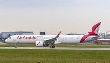 Air Arabia, Dubai Airshow, Airbus