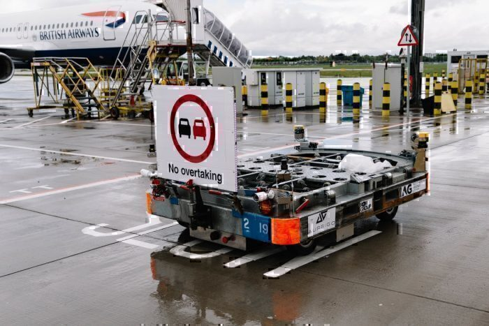 British Airways, Baggage Carts, Automation