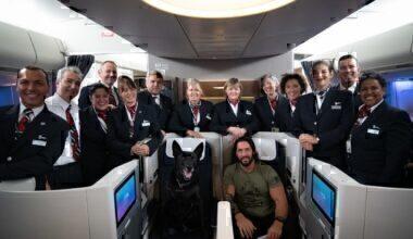 British Airways, Secret Service Dog, Barack Obama