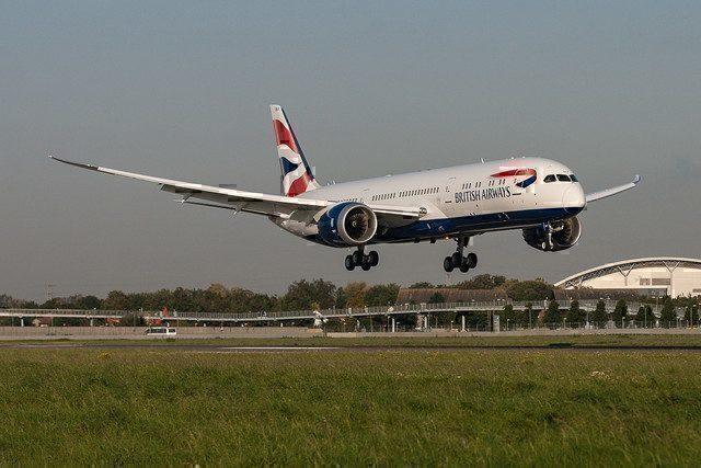 British Airways Boeing 787 Dreamliner