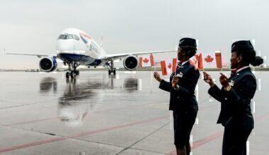 British Airways, Airbus A350, Toronto