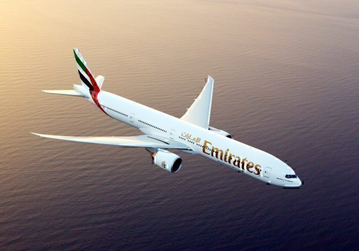 Emirates, Boeing 777, Turbulence