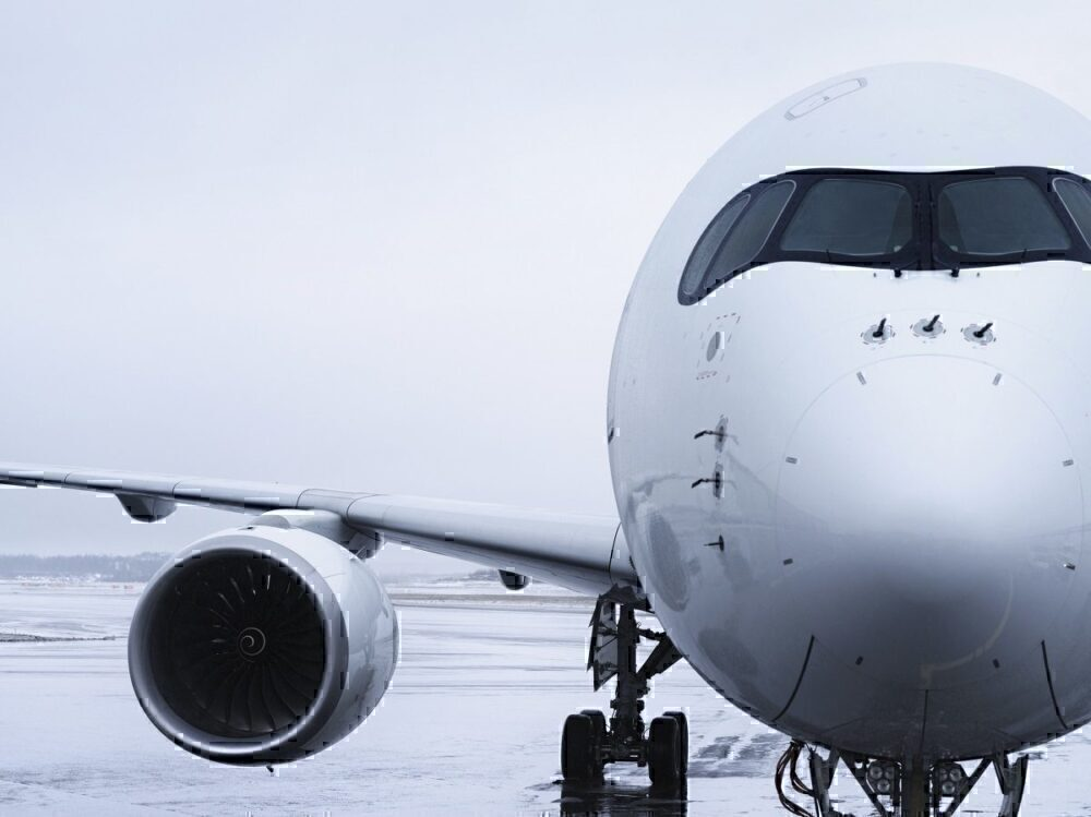 Finnair A350 on ground