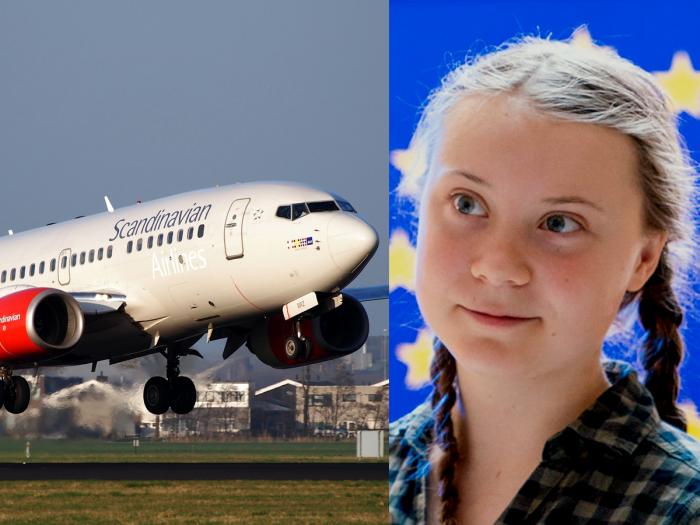 Greta Thunberg flight shaming
