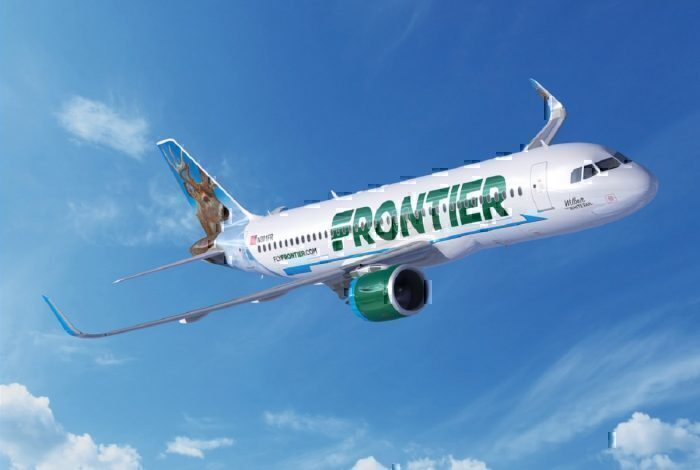 Frontier Airlines A320neo concept