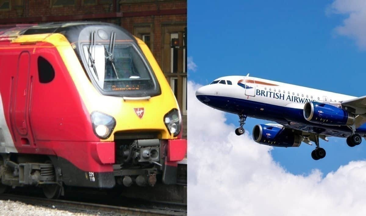 Travelling From London To Glasgow British Airways Vs