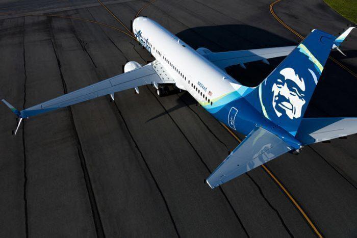 Alaska Airlines 737 Laser