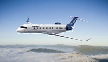 Bombardier CRJ-550 Regional jet