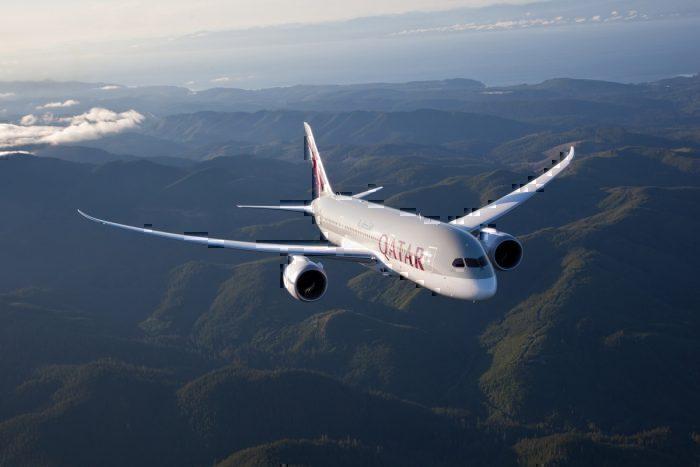 Boeing 787-9, Qatar Ariways, Qsuite