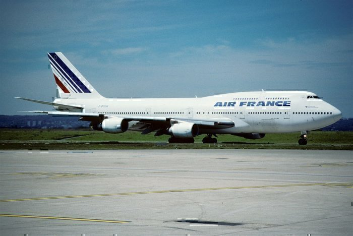 Air France B747-200SUD on taxiway