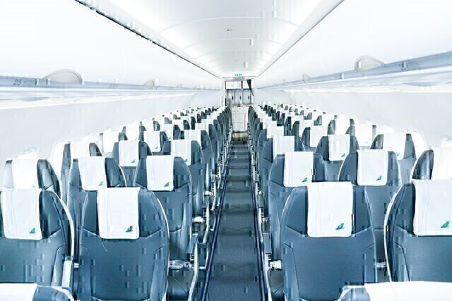 Interior Design of the Bamboo Airways Airbus A320neo Aircraft