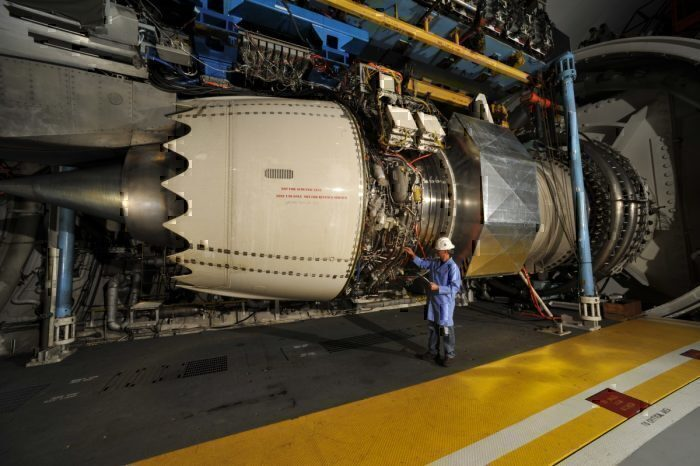 Rolls-Royce Trent 1000 Engine Testing