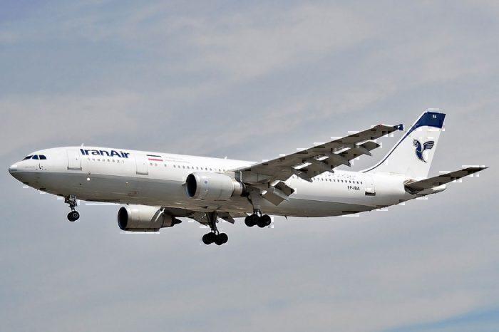 Airbus A300B4-605R - Iran Air (EP-IBA) landing at Heathrow Airport