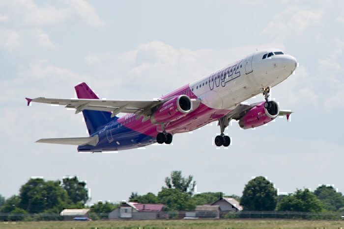 Wizz Air's new aircraft livery