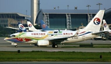 China Eastern Airline planes