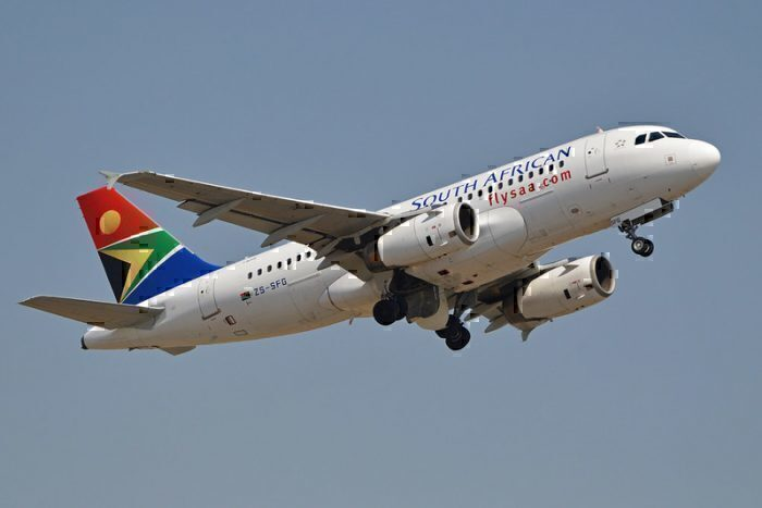 Airbus A319-131 'ZS-SFG' South African Airways