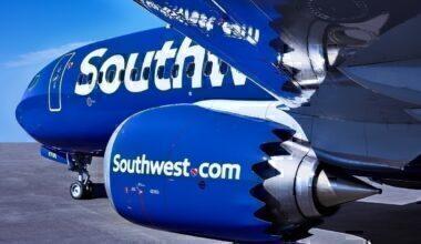 Southwest 737 MAX close