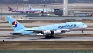 HL7622 | Korean Air Lines | Airbus A380-861 | ICN