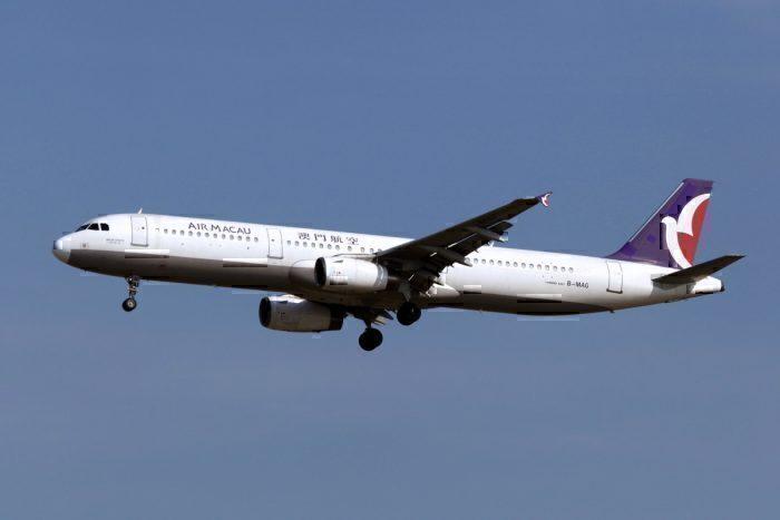 B-MAG | Air Macau | Airbus A321-131