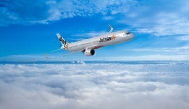 Jetstar Airbus A321neo. Photo: Jetstar