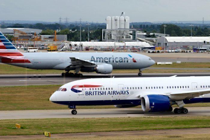 British Airways, American Airlines, Thanksgiving